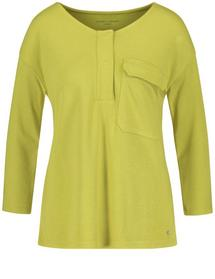 T-SHIRT 3/4 ARM - 50136/CITRONELLE