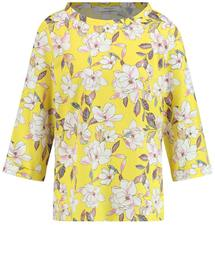 BLUSE 1/1 ARM BASIC FIT - 04106/CITRUS-EDELFLOWER-