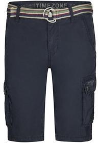 One length  MenLoose MaguireTZ Cargo Shorts incl., washed dark navy