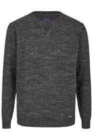 Shirt mit Slub-Effekt ANTHRAZIT