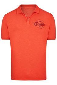 Poloshirt Washed-Optik