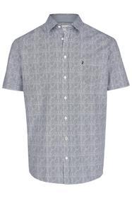 Kurzarmhemd mit Kent-Kragen