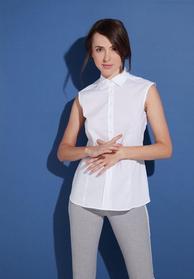 ETERNA OHNE ARM BLUSE MODERN CLASSIC STRETCH