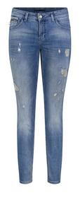 MAC JEANS - SLIM destroyed glam, Authentic Denim