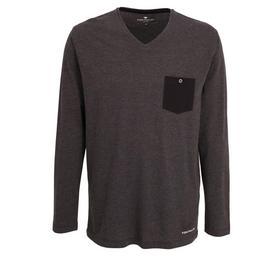 TOM TAILOR Herren Shirt melange 1er Pack