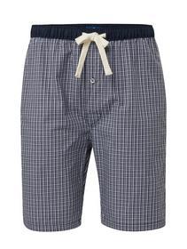 Pyjama Hose, blau-mittel-Karo