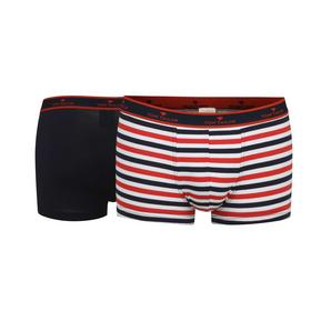 TOM TAILOR Herren Hip Pants melange 2er Pack