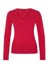 PULLOVER LANGARM, just red