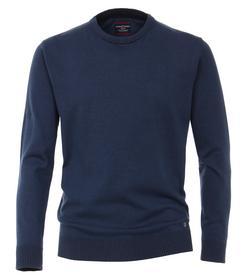 Pullover mit Rundhalsausschnitt unifarben