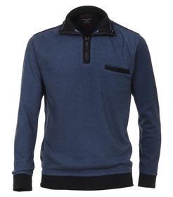 CasaModa Sweat-Shirt Troyer gemustert4