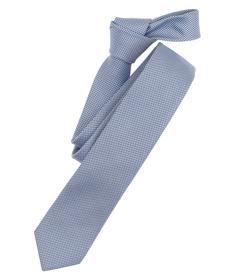 Venti Krawatte Einheitsgröße - Azurblau - 100% Seide