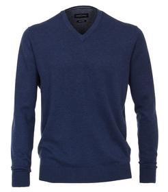 Pullover V-Neck NOS, 144 blau