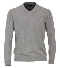 Pullover V-Neck NOS, 713 silber