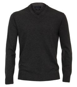 Pullover V-Neck NOS, 782 anthrazit