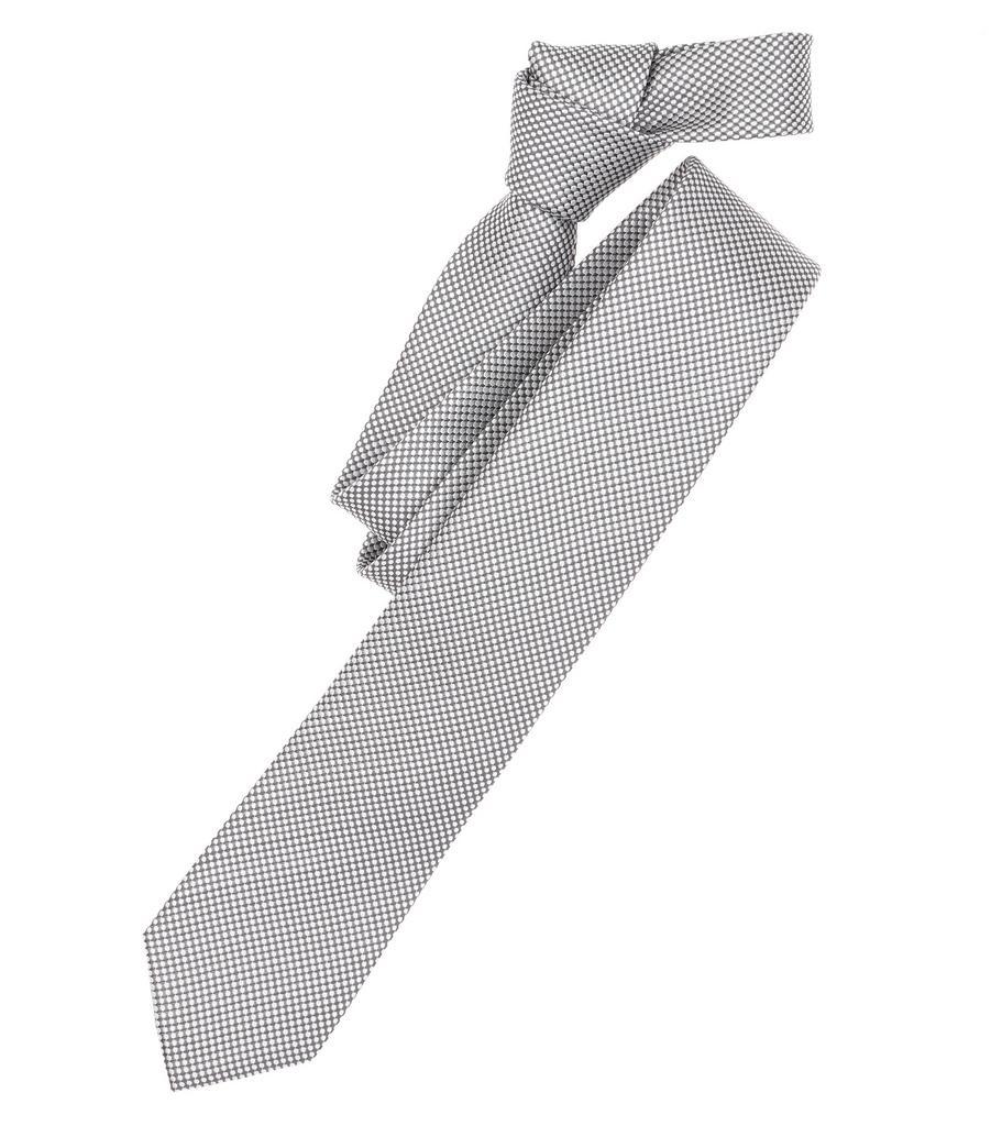 Krawatte Venti Body Fit, 700 silber