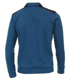 CasaModa Sweat-Shirt Troyer uni