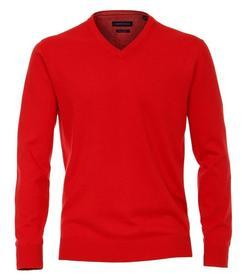 Pullover mit V-Ausschnitt uni 004430