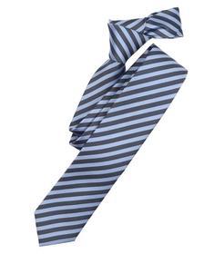 Krawatte NOS Venti, 100 blau