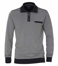 Sweatshirt mit Zip SNOS - 105/105 blau