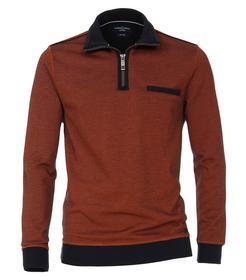Sweatshirt mit Zip SNOS - 476/476 orange
