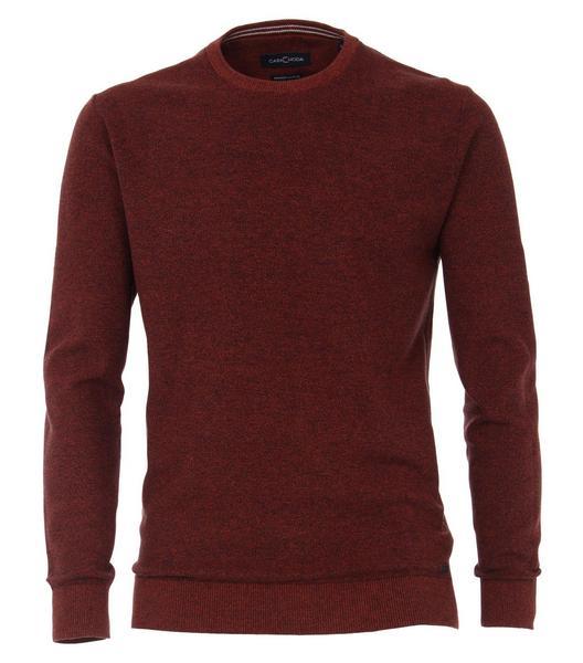 Pullover mit Rundhalsausschnitt gemustert