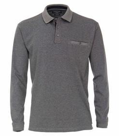 Polo-Shirt Langarm gestreift