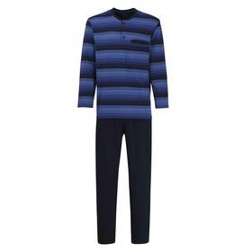 GÖTZBURG Herren Pyjama quergestreift 1er Pack