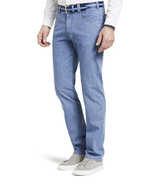 Diego leichter Cross-Denim, super-stretch light-blue-stone-used