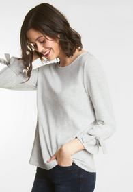 Sweatshirt mit Schleifen