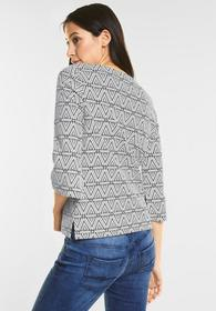 Jacquard Muster Pullover