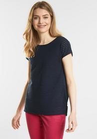 Shirt in Lochstrick-Optik