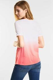 Dip dye Print Shirt
