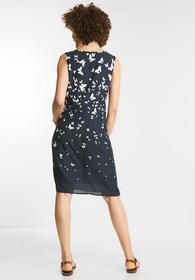 Schmetterling-Print Kleid