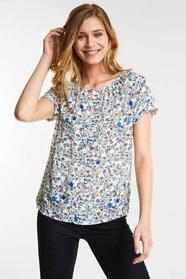 Blumenprint Carmen Shirt