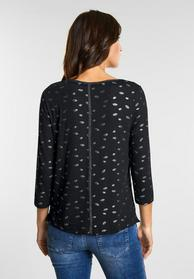 Softes Shirt mit Kuss-Print
