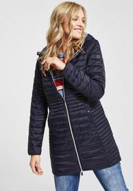 Mantel mit Steppung