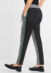 Hose mit Materialmix Fay