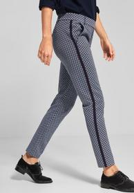 Casual Fit Hose mit Print