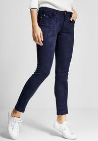 Slim Fit York im Velourslook