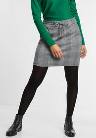 EOS-  Glencheck Skirt with Gal