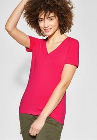Shirt mit V-Neck Rhea