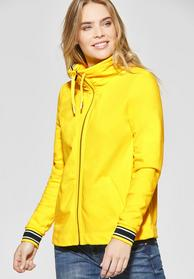 feminine Sweatjacket with cont