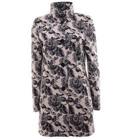 Mantel mit floralem Jacquardmuster, Made in Europe