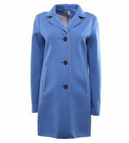 Mantel aus softem Viskose-Jersey, Scuba -Look, Made in Europe