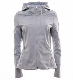 Sportliche Softshell Jacke mit Kapuze