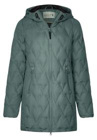 Mantel mit Steppungen