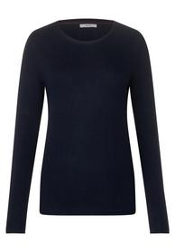 BF_Structure Knit Pullover - 10128/deep blue