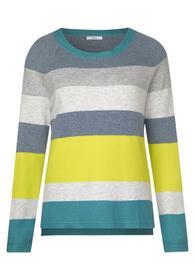 Block Stripe Pullover - 32011/light water green