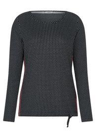 Jaquard Shirt mit Muster