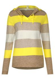 Striped Hoody Pullover